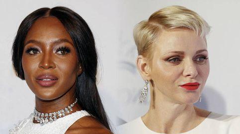 El tenso reencuentro de la princesa Charlène y Naomi Campbell