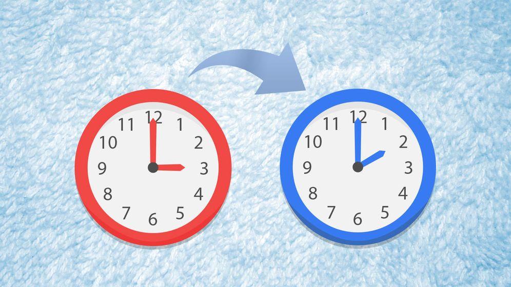Foto: A las 3:00 horas volverán a ser las 2:00 horas (EC)