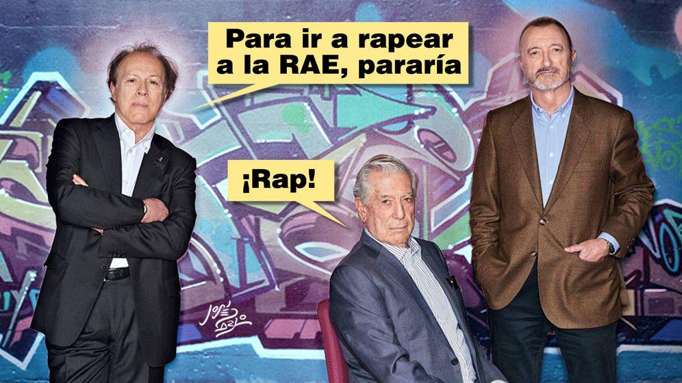 Foto: Una de las Palindrotiras con la RAE de protagonista (José Pablo García)