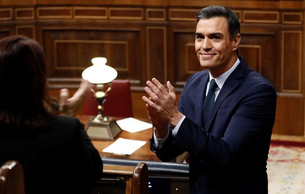 Foto: El candidato a la presidencia del Gobierno, Pedro Sánchez. (EFE)