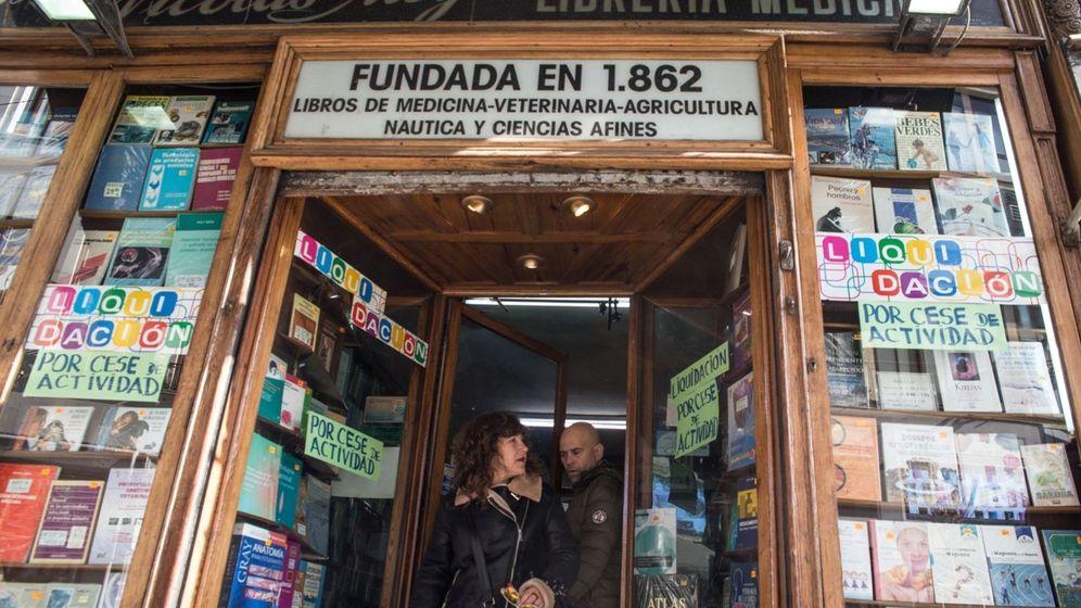 Foto: La librería Nicolás Moya