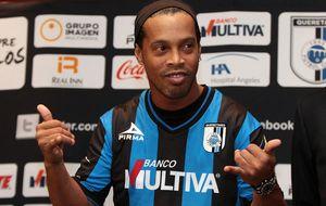 Ronaldinho tiene ilusión de ganar algo en México con el Querétaro