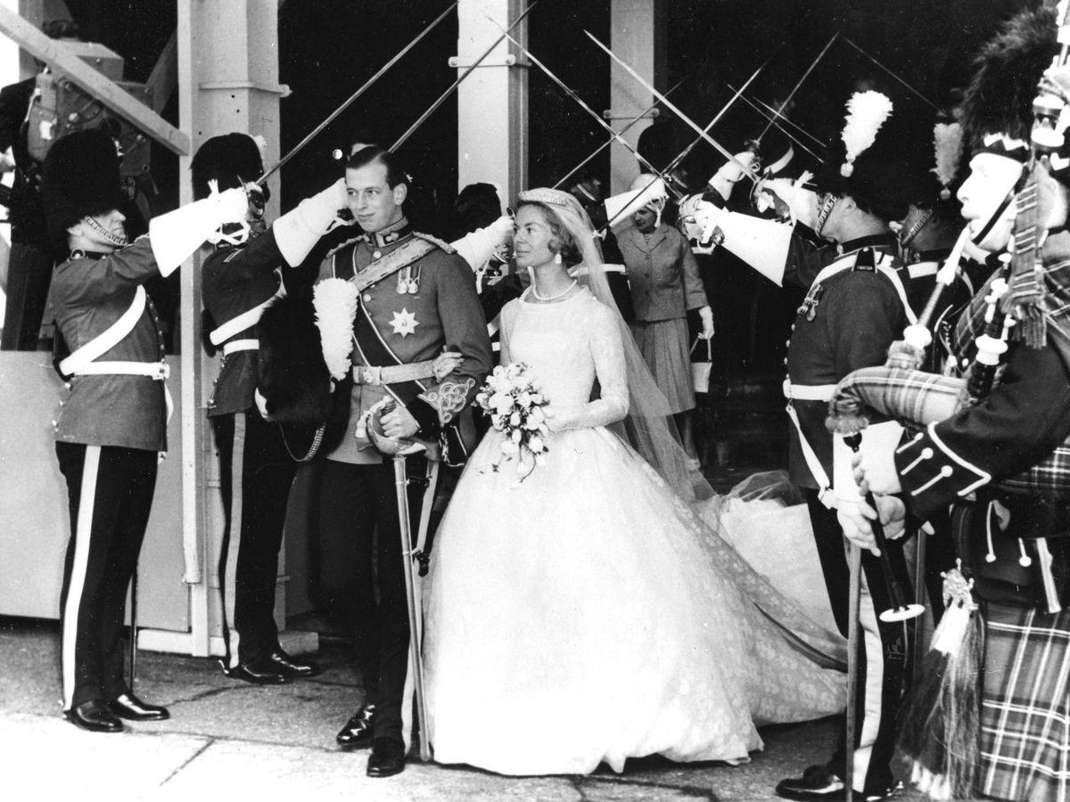 Foto: La boda de los duques de Kent. (Cordon Press)