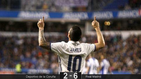 Zidane encuentra en Riazor más razones para dudar de Cristiano y Benzema