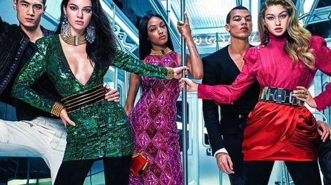 Kendall Jenner, Gigi Hadid y Jourdan Dunn, protagonistas de la campaña de Balmain para H&M