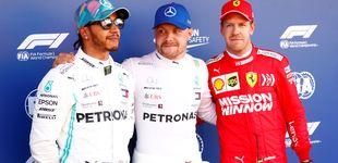 Post de Fórmula 1: Pole estratosférica de Bottas, Mercedes hunde a Ferrari y Sainz saldrá 12º