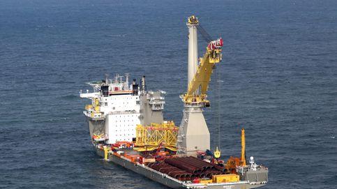 Así se construye un gigantesco parque eólico en alta mar