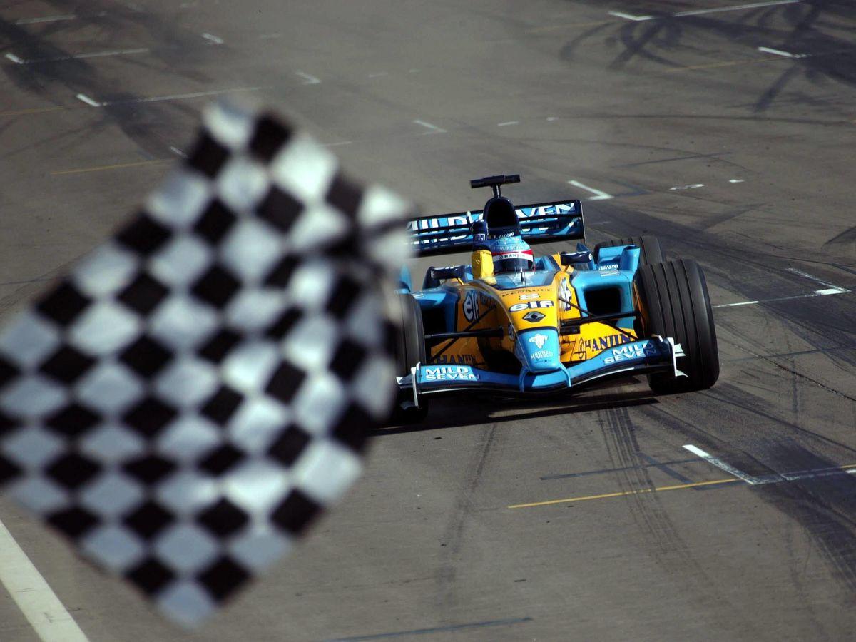 Foto: Fernando Alonso logró el primer título de Renault, que ahora deja el paso a Alpine en la F1