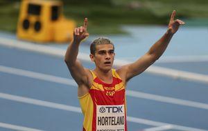 Hortelano accede a las 'semis' de 200 con récord de España