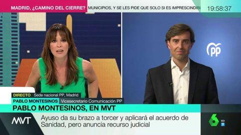 Mamen Mendizábal pone contra las cuerdas a Pablo Montesinos (y a Ayuso)