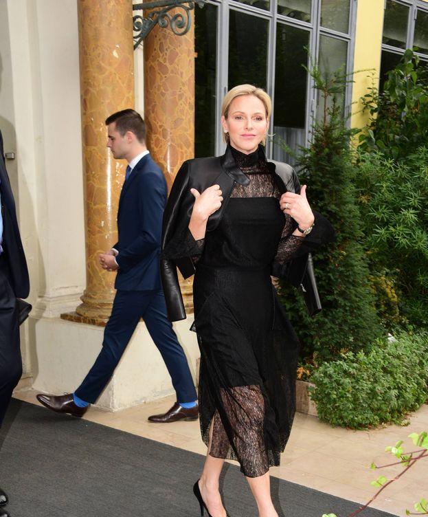 Foto:  Charlène de Mónaco asiste a la Semana de la Moda de París. (Cordon Press)