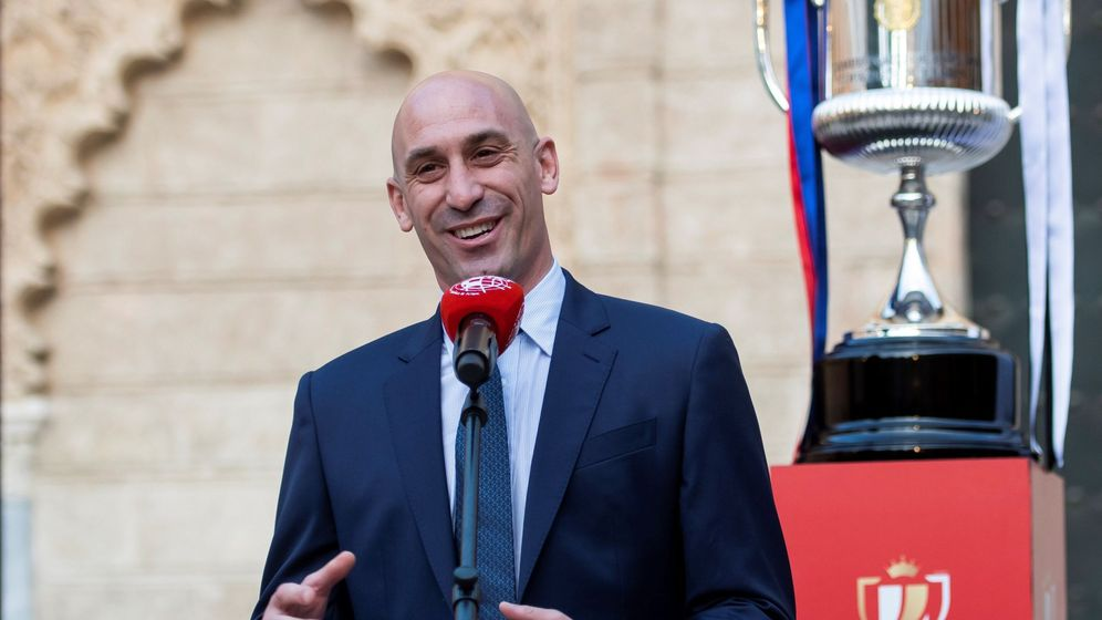 Foto: El presidente de la Federación Española de Fútbol, Luis Rubiales. (EFE)