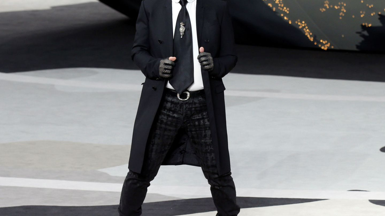 Karl Lagerfeld en una imagen de archivo.  (Reuters)