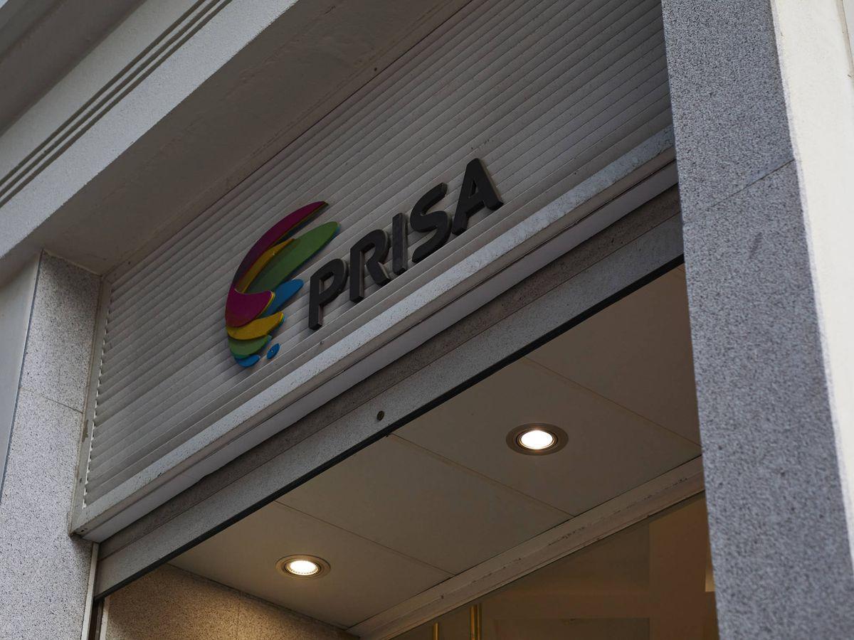 Foto: Logo del Grupo Prisa. (EP)
