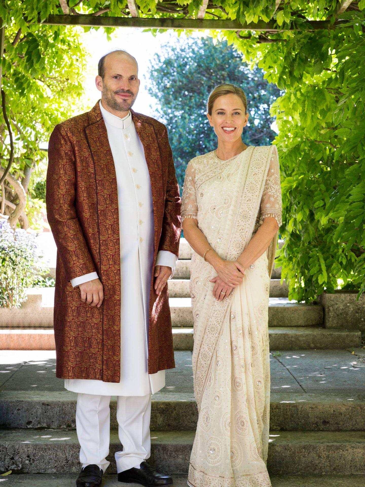 Hussain Aga Khan y su mujer, Fareed. (The Ismaili / Facebook)