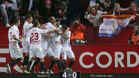 El Sevilla, como el Barcelona, pide cita en la final de la Copa del Rey en la ida