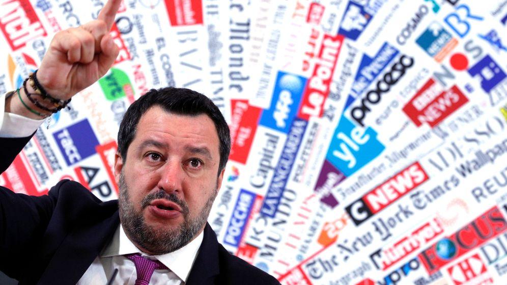 Foto: Matteo Salvini, este jueves. (Reuters)