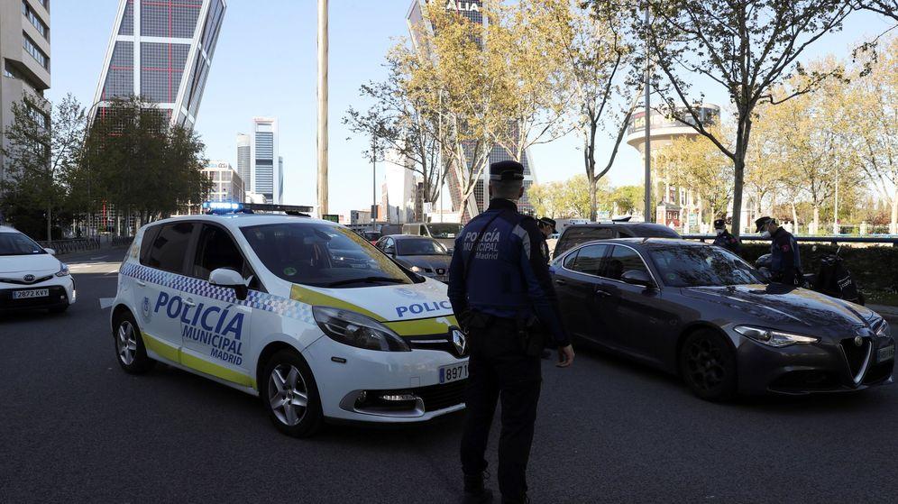 Foto: Agentes de la Policía Local en Madrid. (EFE)