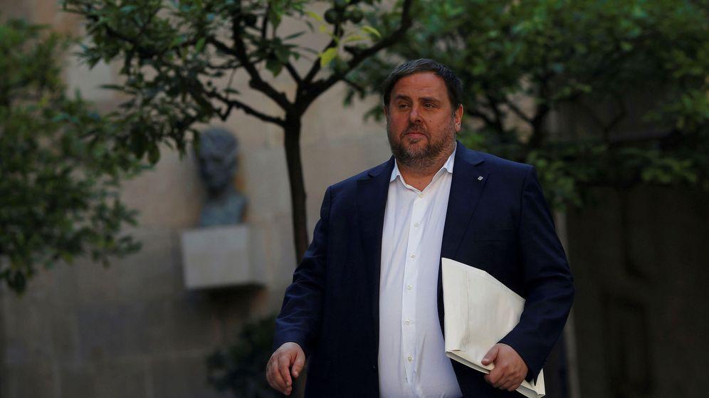 Foto: El exvicepresidente catalán Oriol Junqueras en una imagen de archivo en el Parlament. (Reuters)
