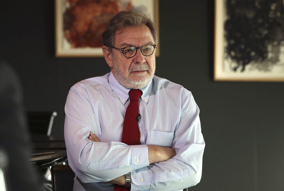 Foto: Juan Luis Cebrián. (Ballesteros / Efe)