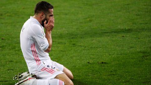 Carvajal sufre un calvario con las lesiones: la principal preocupación de Zidane