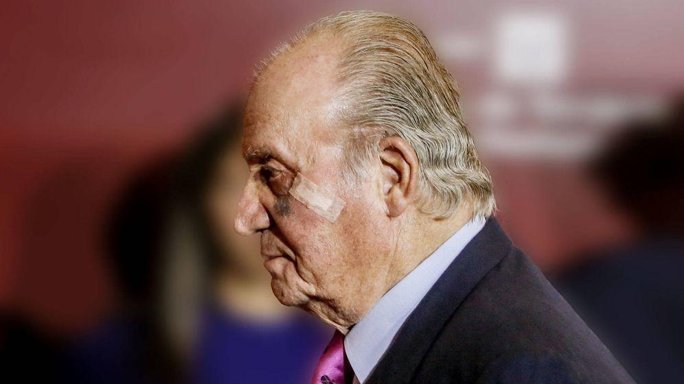 Foto: El rey Juan Carlos I, fotografiado la semana pasada en Las Ventas. (Getty)