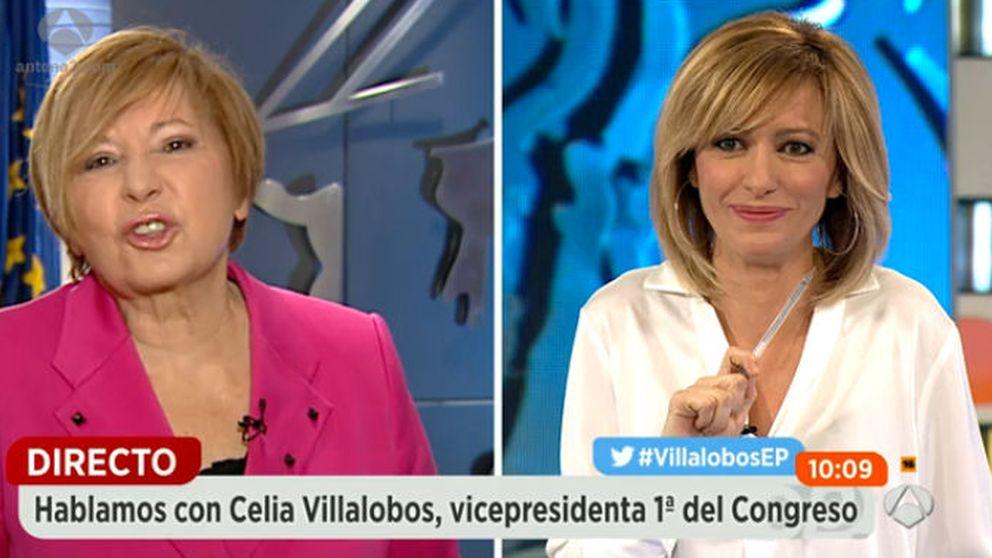 Susanna Griso enfada a Celia Villalobos por bromear con el Candy Crush