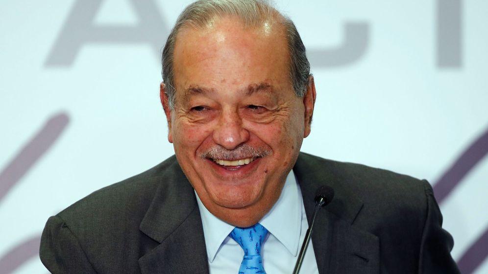Foto: Carlos Slim. (EFE)