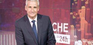 Post de RTVE fulmina al presentador de 'La noche en 24 horas', Víctor Arribas