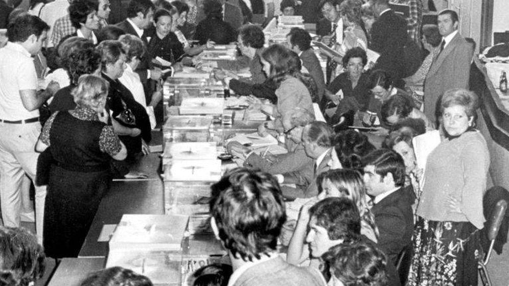 Foto: Las elecciones generales de 1977