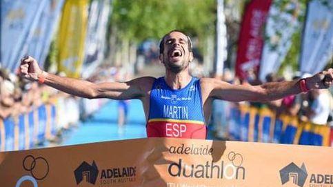 Emilio Martín se proclama por segunda vez campeón del mundo de duatlón