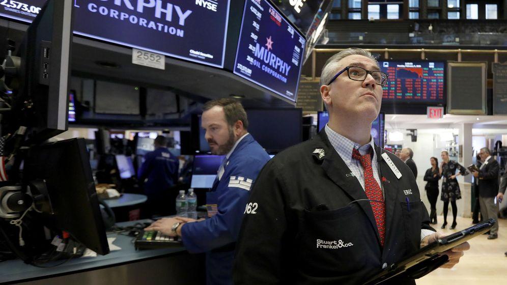 Foto: Caídas en Wall Street. (EFE)