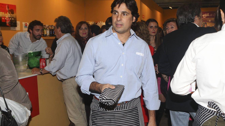 Foto: Fran Rivera en el rastrillo Nuevo Futuro (Gtres)