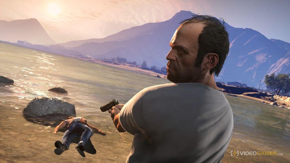 Foto: Así sería Grand Theft Auto V en la vida real
