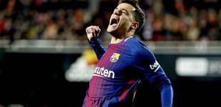 Post de A Coutinho le empiezan a salir las cosas y conduce al Barcelona a otra final de Copa