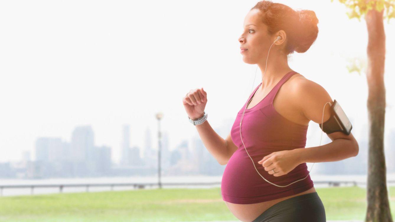 ¿Puedo seguir corriendo aunque esté embarazada?