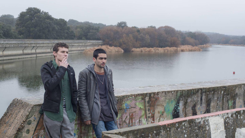 Arón Piper y Omar Ayuso en una secuencia de 'Élite'. (Netflix)