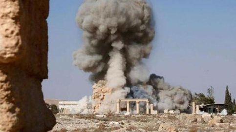 Los radicales del Estado Islámico dinamitan el histórico templo de Baal en Palmira