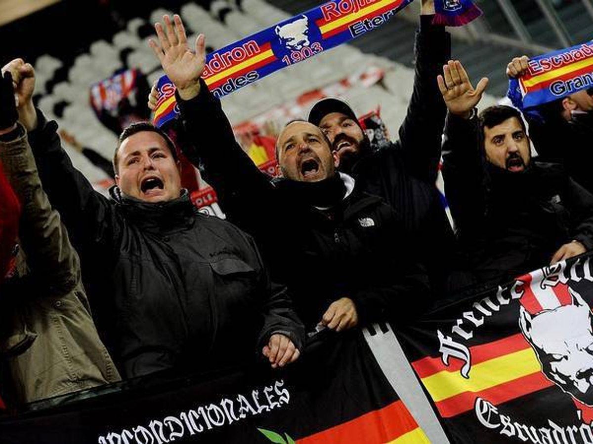 Foto: Aficionados del Atlético de Madrid, en 2014. (Reuters)