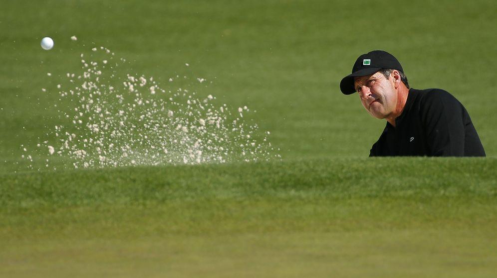 Foto: José María Olazabal vuelve a encontrar su mejor golf (Reuters).
