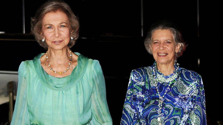 La reina Sofía y la princesa Irene. (Getty)