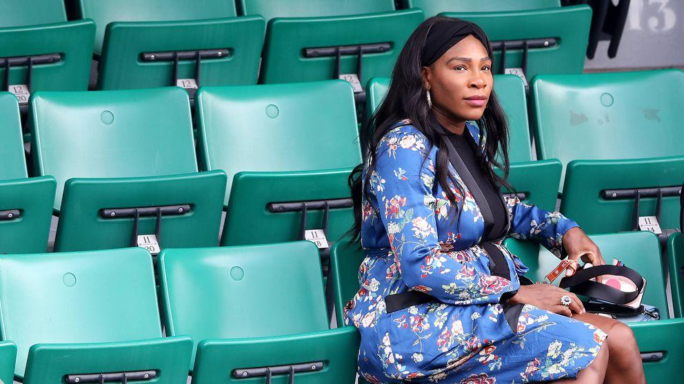 El posado de Serena Williams a lo Demi Moore: desnuda y embarazadísima