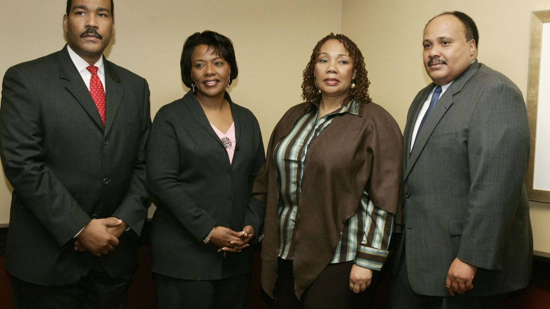 Los cuatro hijos de Martin Luther king, en 2006. (Reuters)