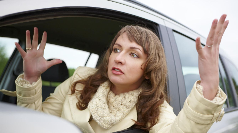 Foto: La última vez que esta noruega se quejó del tráfico. (iStock)