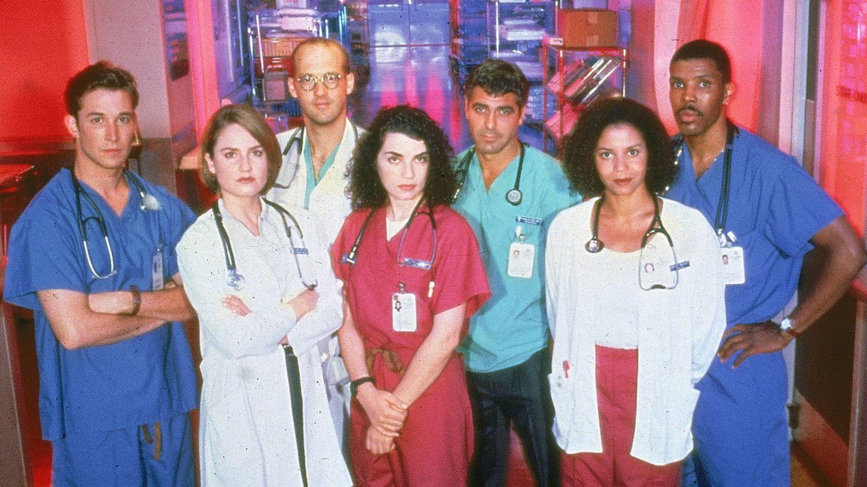 El reparto de 'Urgencias'. (Getty)