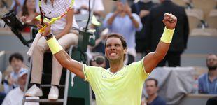 Post de Rafa Nadal contra la lluvia: las prisas para ganar a Nishikori en Roland Garros