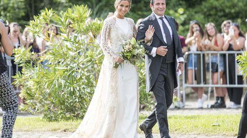 El vestido de novia de María Pombo