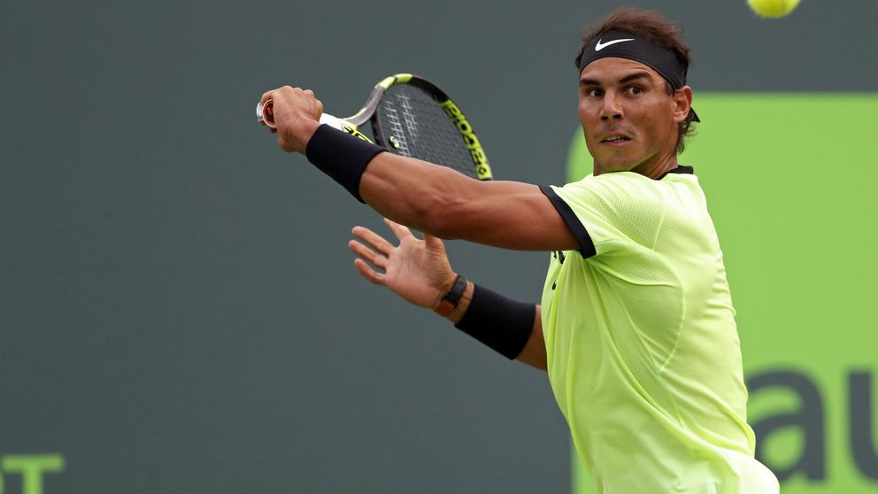 Rafa Nadal supera un inicio horrible y gana en Miami su partido 1000