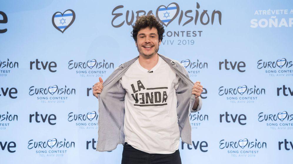 Foto: Miki, representará a España el próximo 18 de mayo en Tel Aviv. (RTVE)