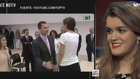 Amaia, sobre su encuentro con Letizia y Felipe: Fingí un poco, obviamente